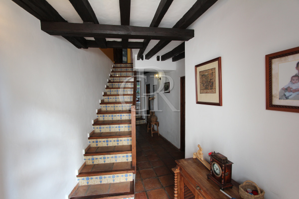 entrance hall staircase